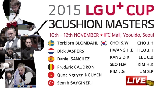 LG U-Plus Cup 3-Cushion Masters